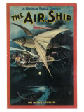 The Air Ship Print