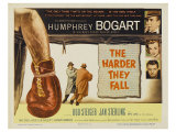 The Harder They Fall, 1956 Giclee Print