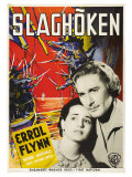 The Sea Hawk, Swedish Movie Poster, 1940 Posters