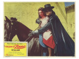 The Sign of Zorro, 1960 Giclee Print
