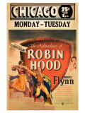 The Adventures of Robin Hood, 1938 Lámina giclée