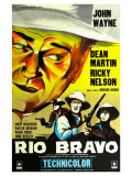 Rio Bravo, French Movie Poster, 1959 Posters