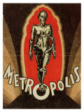 Metropolis, 1926 Reproduction procédé giclée