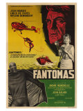 Fantomas, Argentine Movie Poster, 1964 Reproduction giclée Premium