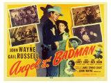 Angel & The Badman, 1947 Poster