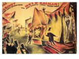 The Cabinet of Dr. Caligari, 1919 Giclee-vedos