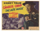 Charlie Chan in The Jade Mask, 1945 Plakater