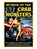 Attack of the Crab Monsters, 1957 Giclée-tryk