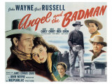 Angel and the Badman, 1947 Print