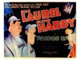 Pardon Us, 1931 Poster