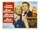 The Bad and the Beautiful, 1953 Giclée-tryk