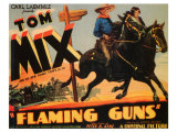 Flaming Guns, 1932 Print