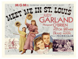 Meet Me in St. Louis, UK Movie Poster, 1944 Giclee Print