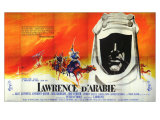 Lawrence of Arabia, French Movie Poster, 1963 Lámina giclée