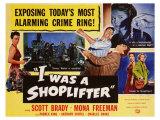 I Was a Shoplifter, 1950 Digitálně vytištěná reprodukce