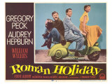 Roman Holiday, 1953 Giclée-Druck