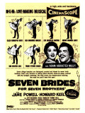 Seven Brides for Seven Brothers, 1954 Print