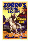 Zorro's Fighting Legion, 1939 Giclee Print