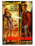 East of Eden, Belgian Movie Poster, 1955 Premium Giclee Print