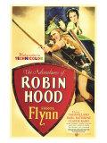 The Adventures of Robin Hood, 1938 Giclée-tryk