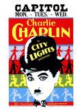 Byens Lys, 1931, på engelsk Plakater
