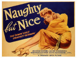 Naughty but Nice, 1939 Reproduction procédé giclée
