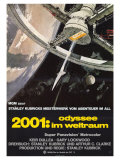 2001: A Space Odyssey, German Movie Poster, 1968 Prints