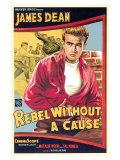 Rebel bez příčiny /Rebel Without a Cause, 1955 (filmový plakát vangličtině) Umělecké plakáty