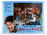 Long John Silver, 1954 Print