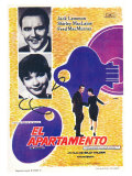 The Apartment, Spanish Movie Poster, 1960 Prints