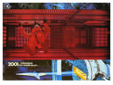 2001: A Space Odyssey, German Movie Poster, 1968 Giclee Print