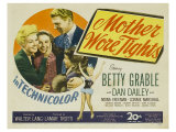 Mother Wore Tights, 1947 Giclee Print