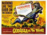 Godzilla vs The Thing, 1964 Giclee Print