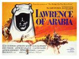Lawrence of Arabia, 1963 Giclee-tryk i høj kvalitet