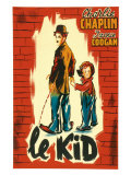 The Kid, French Movie Poster, 1921 Prints