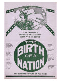 The Birth of a Nation, 1915 Print