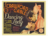 Dancing Lady, 1933 Giclee Print