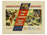 Beat the Devil, 1953 Giclee Print