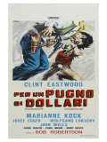 A Fistful of Dollars, Italian Movie Poster, 1964 Prints