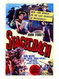 Stagecoach, 1939 - Giclee Baskı