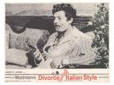 Divorce Italian Style, 1962 Premium Giclee Print