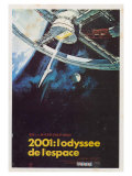 2001: A Space Odyssey, French Movie Poster, 1968 Print