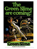 Green Slime, 1969 Art Print