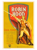 The Adventures of Robin Hood, French Movie Poster, 1938 Posters