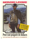 A Fistful of Dollars, French Movie Poster, 1964 Giclee Print