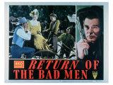 Return of the Bad Men, 1948 Posters