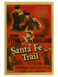 Santa Fe Trail, 1940 Posters