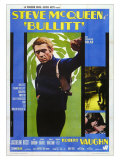 Bullitt, Italian Movie Poster, 1968 Posters