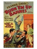 Burn 'em Up Barnes, 1934 Poster
