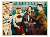 Design for Living, 1933 Poster